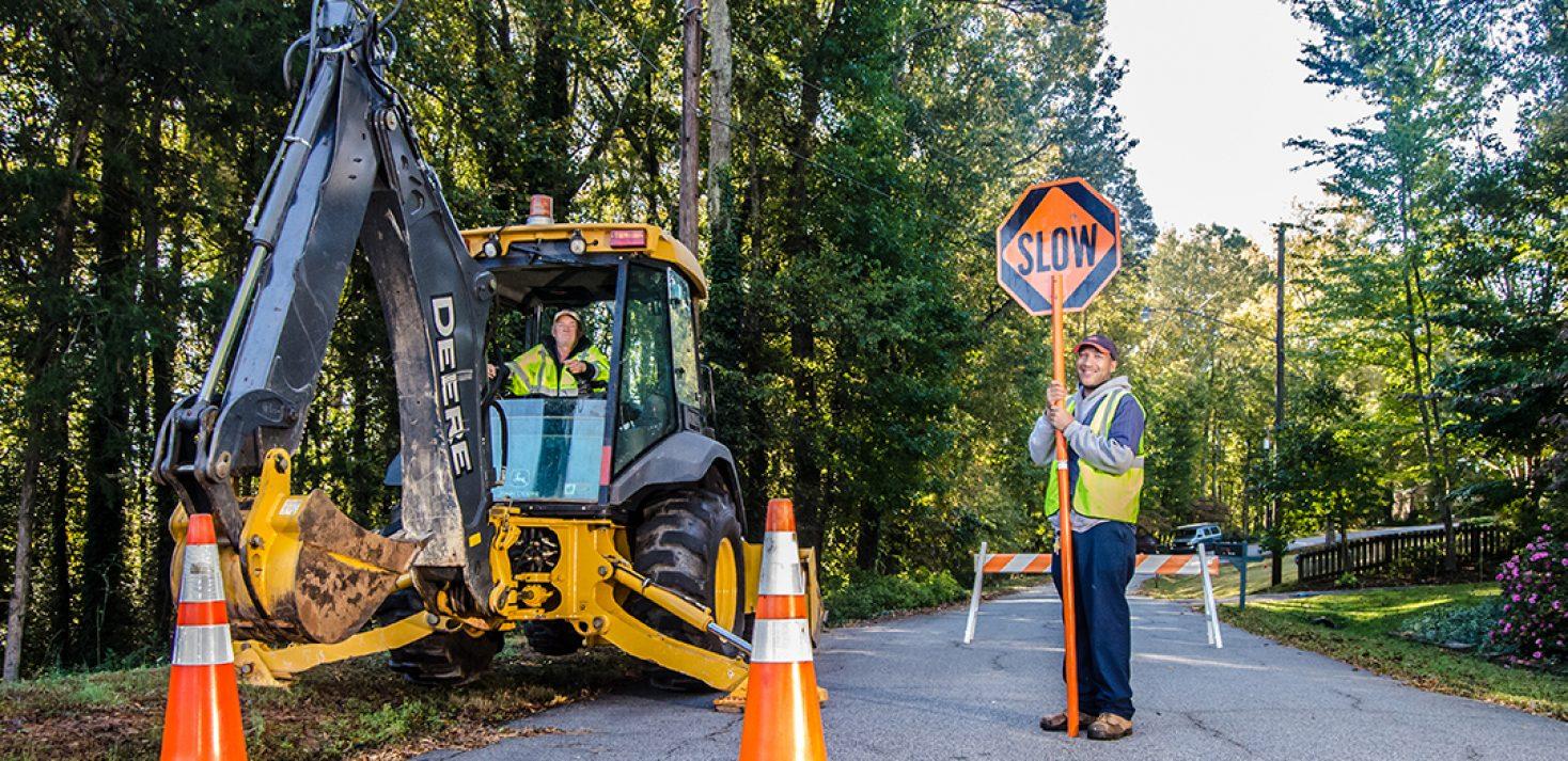 Roads closed due to water leak repairs