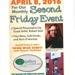 second friday poster for april jpeg