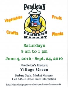 Farmers Market Flyer 2016