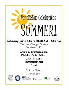 Pendleton Celebrates Summer Flyer 2016