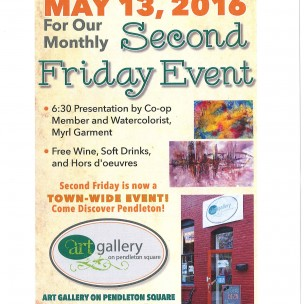 Second Friday in downtown Pendleton – May 13, 2016