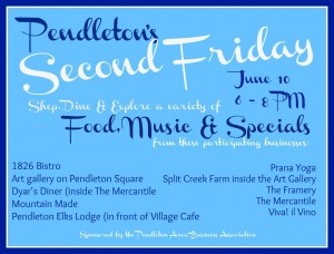 Second friday June 2016 flyer