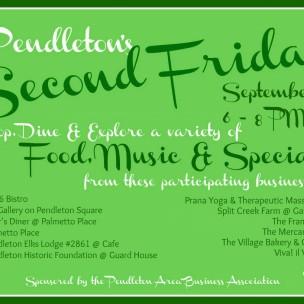 Pendleton's Second Friday