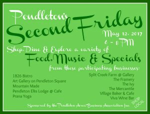 Second Friday May 2017