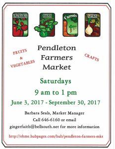 Farmers Market Flyer 2017