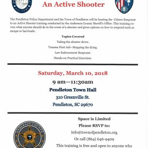 Citizen Response to An Active Shooter Training