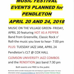 Music Festival is Coming to Pendleton