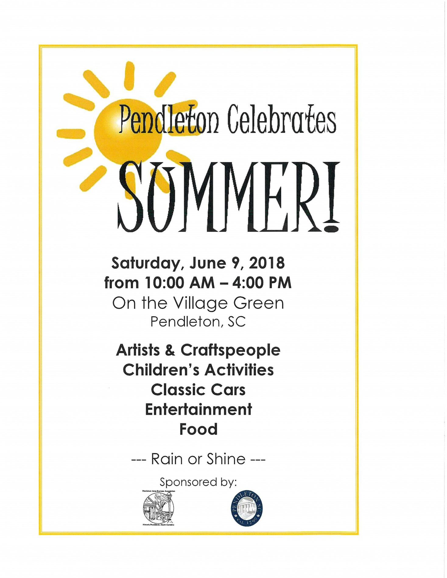 Pendleton Celebrates Summer