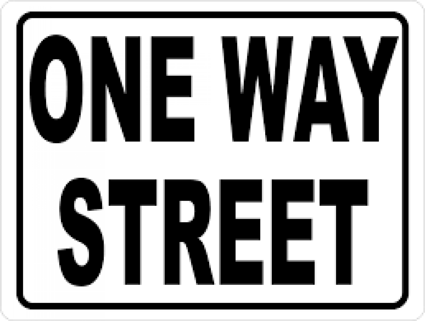 Exchange Street begins to be a one-way street October 22, 2018