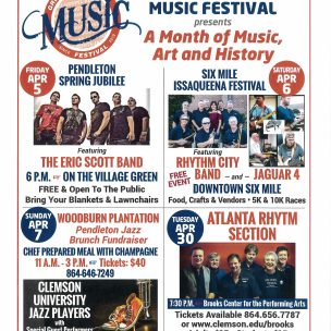 Music Festival Events in Pendleton and Surrounding Area