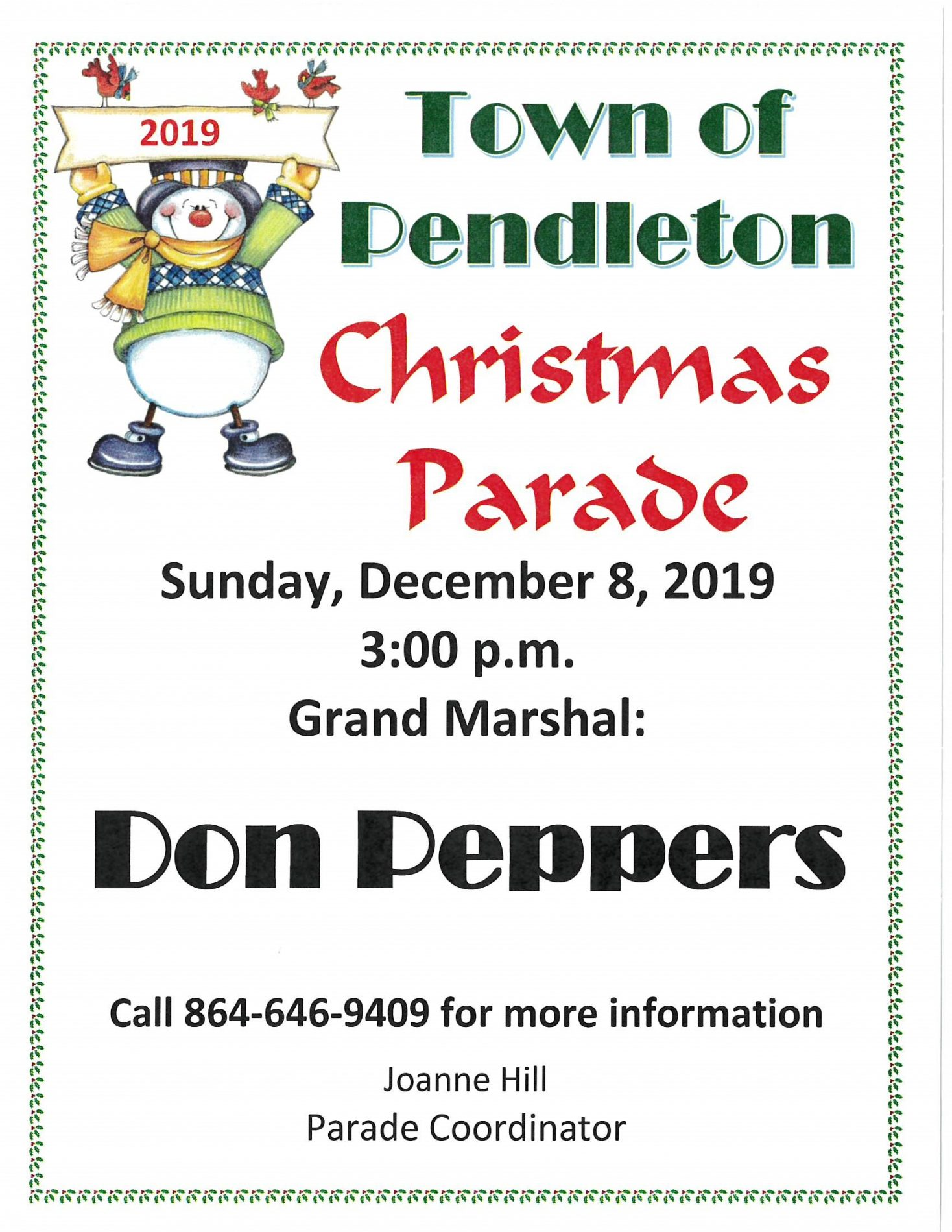 Pendleton Christmas Parade