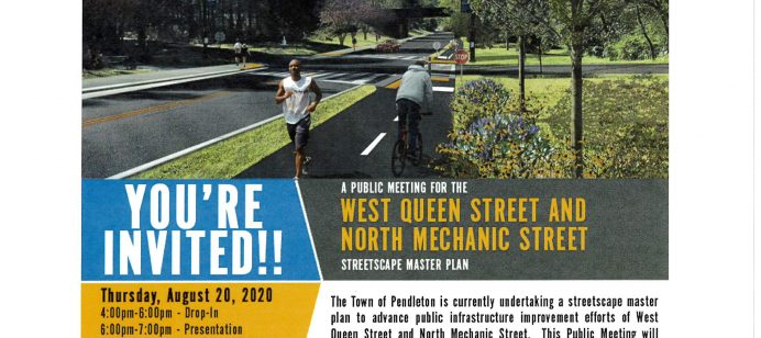 Public Meeting on W. Queen Street & N. Mechanic Street
