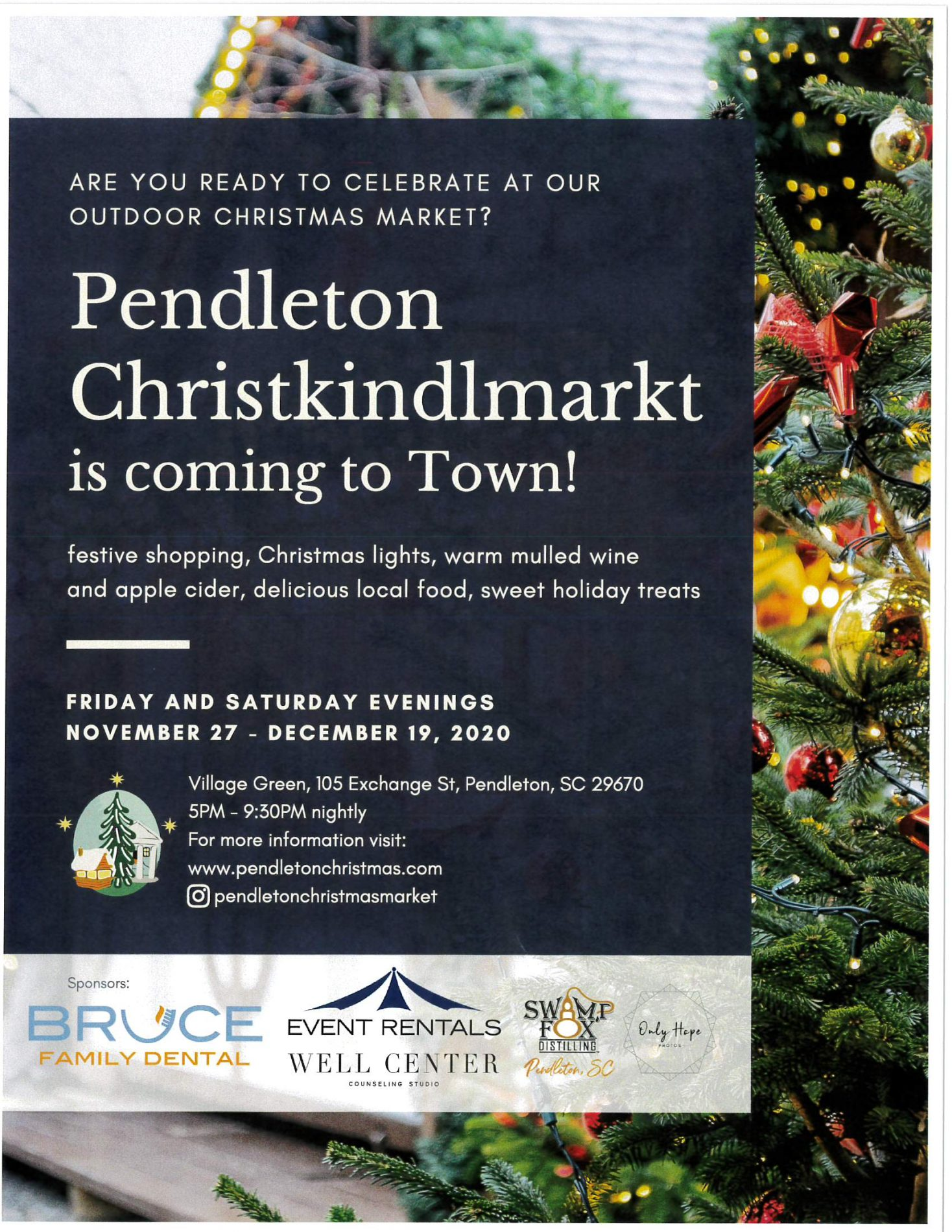 Pendleton Christkindlmarkt is coming to Town!