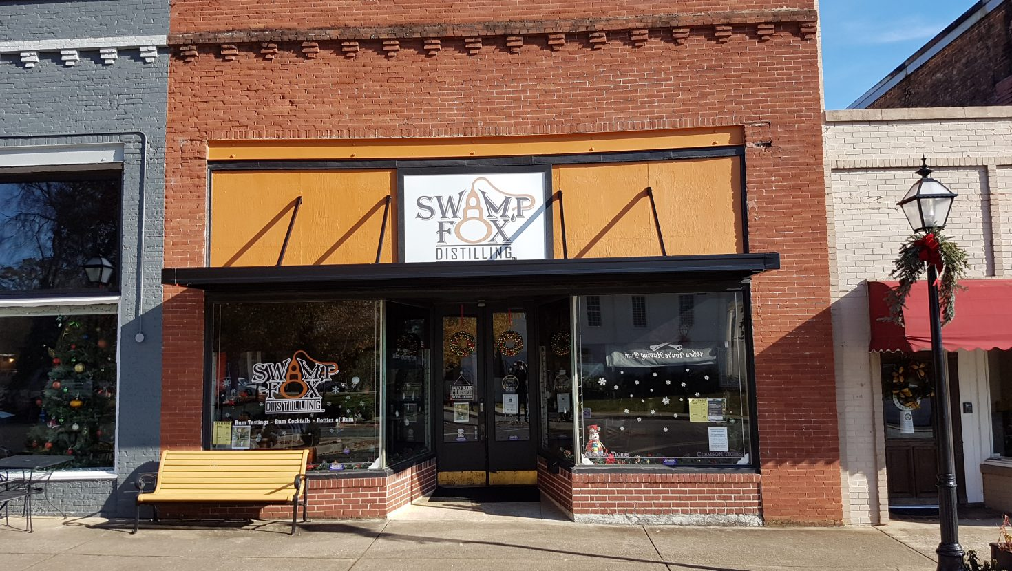 Swamp Fox Distilling – Recipient of Facade Improvement Grant