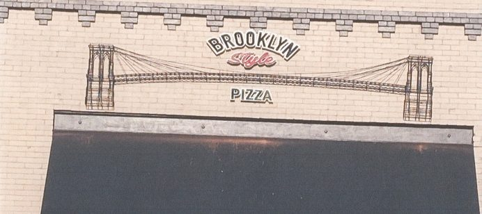 Brooklyn Style Pizza Receives a Facade Improvement Grant