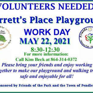 Volunteers Are Needed