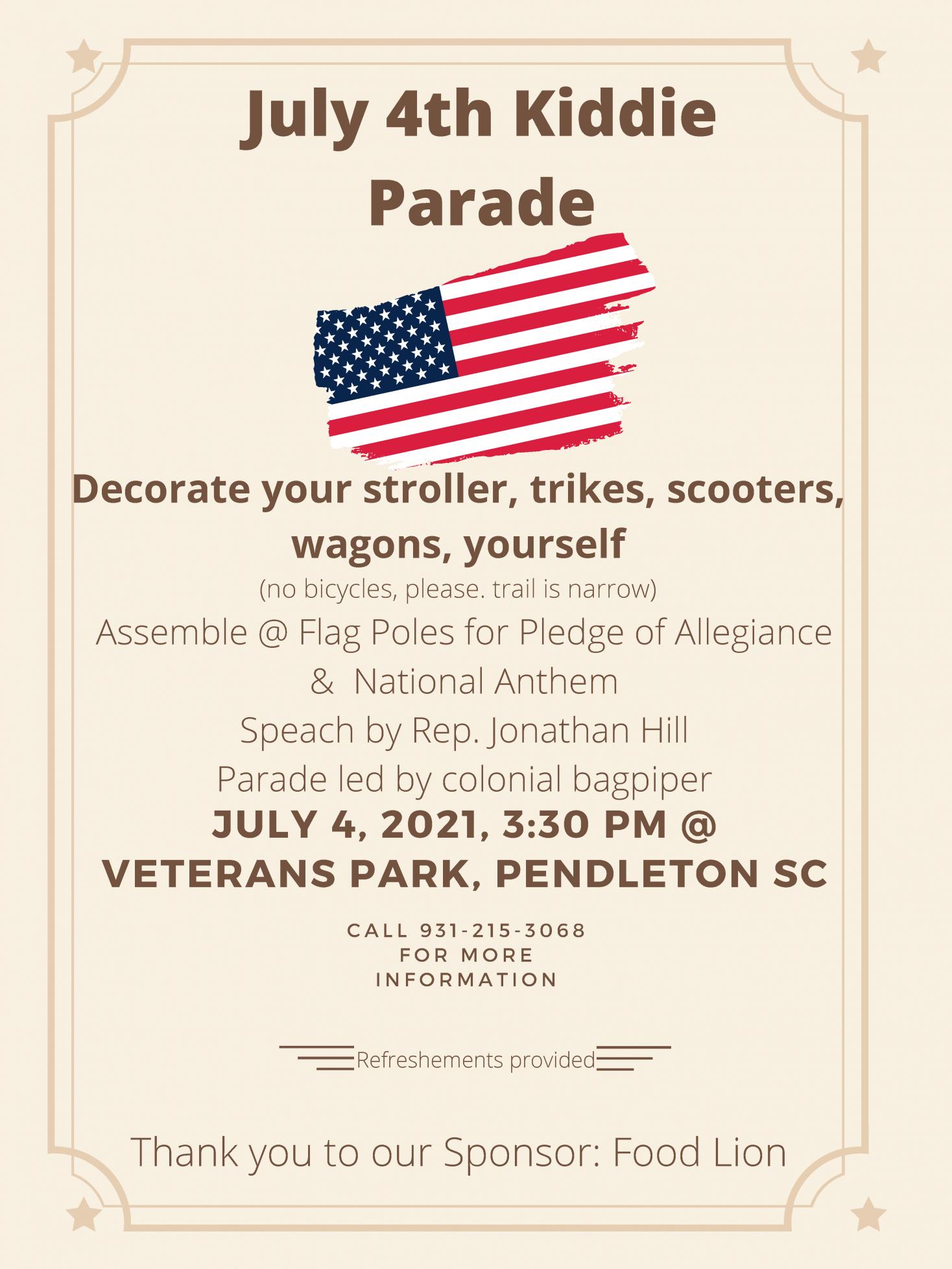 July 4th Kiddie Parade