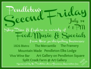 Second Friday July 2017