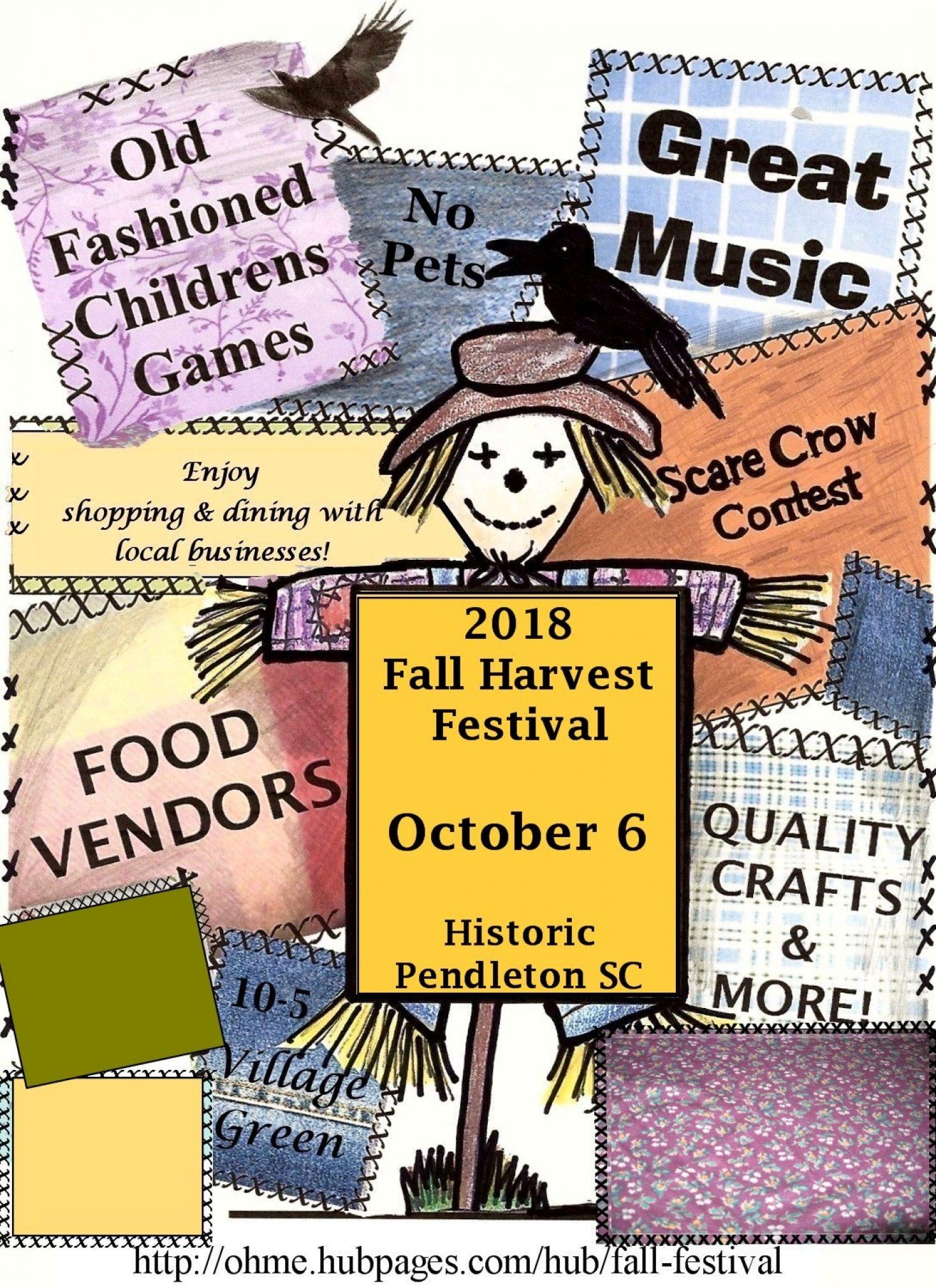 Pendleton's 20th Annual Fall Harvest Festival
