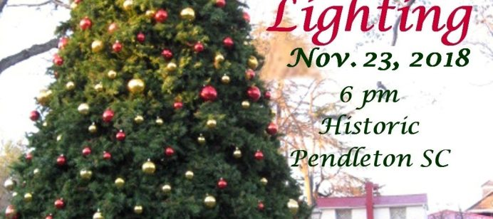 Pendleton Christmas Tree Lighting