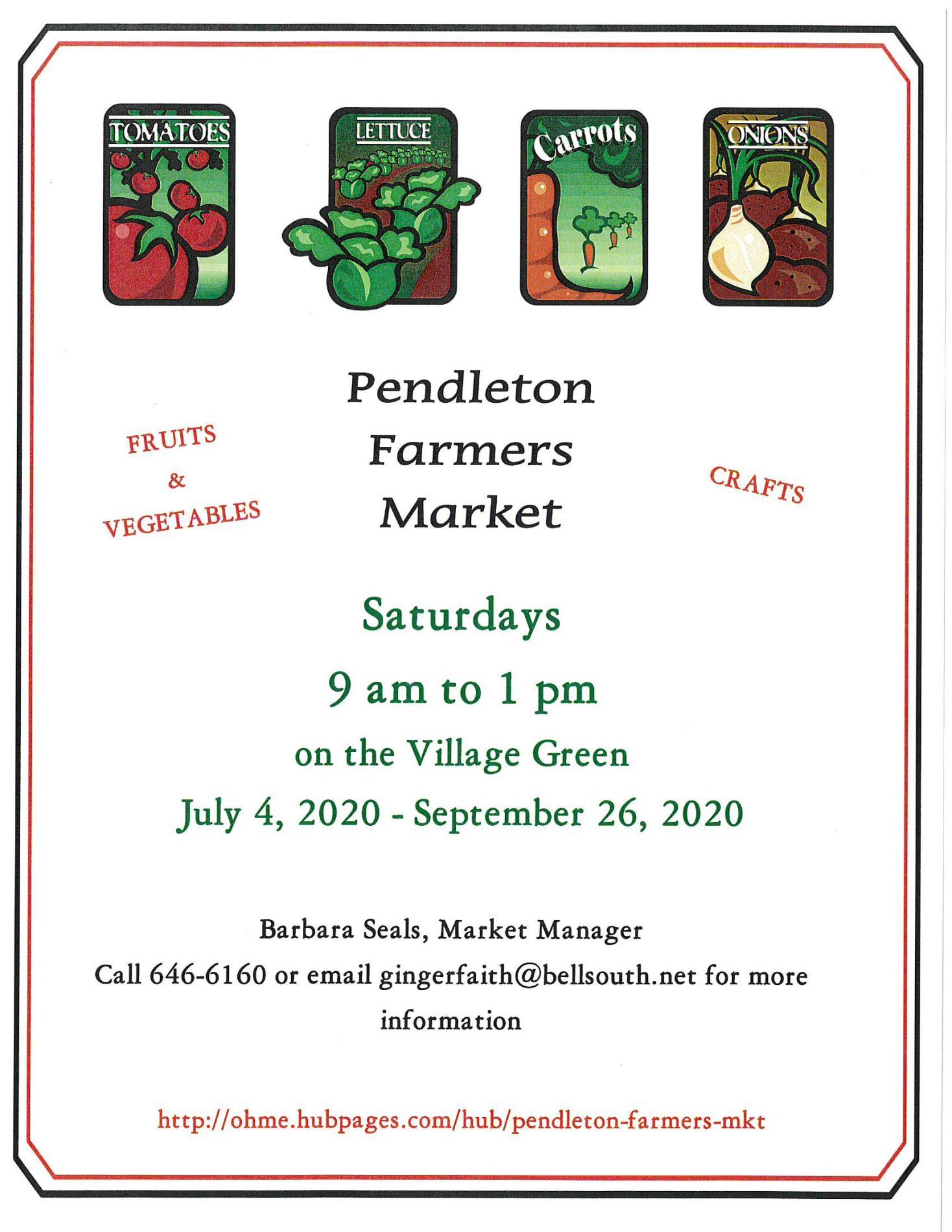 Farmers Market begins in July