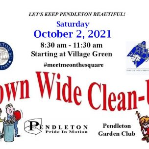 Our Fall Town Wide Clean-up is scheduled!